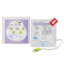 Electrodos Pediatricos DESA Zoll AED Plus PEDI PADZ II