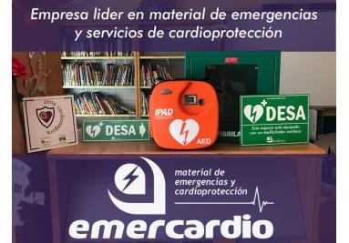 EmerCardio. Venta de Desfibriladores y Material de Emergencias